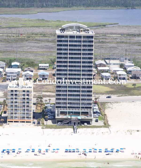 Perdido Key Alabama: Aerial Images Of The Colonnades Condo In Gulf Shores AL