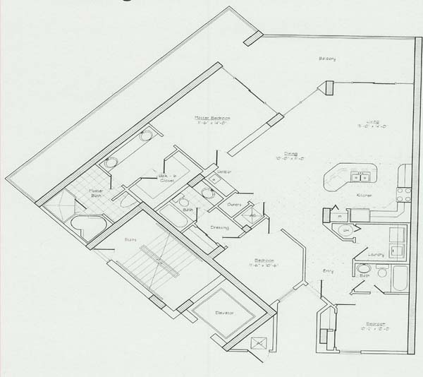 Floor plans for the lighthouse condo in gulf shores al for Lighthouse blueprints plans