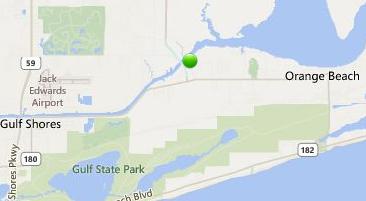Map Of Beachfront Condos In Orange Beach Al Pictures To