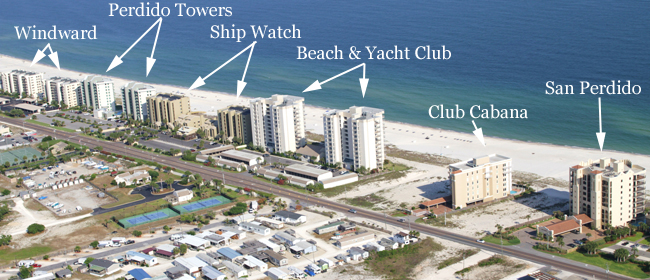 Perdido Key Condos For Sale Aerial Image Search
