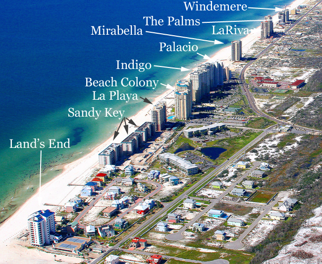 perdido keys florida map