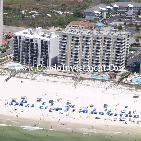 Perdido Key Alabama: Aerial Images Of The Romar Tower Condo In Orange Beach AL