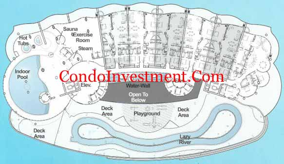 Pin It Amenity level at Turquoise Place. Floor Plans For Turquoise Place Condo In Orange Beach  AL