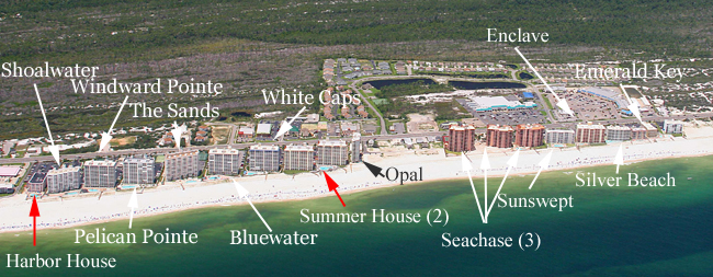 Map Of The Wharf Orange Beach Al Best Beaches In World