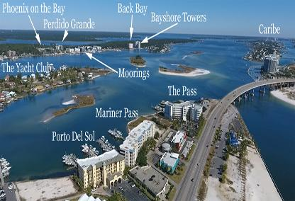 Orange beach al condos with boat slips for sale for Cost to build a house in alabama