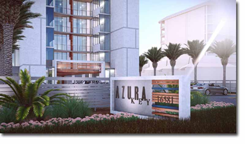 Rendering of Azura Key condo in Perdido Key Florida