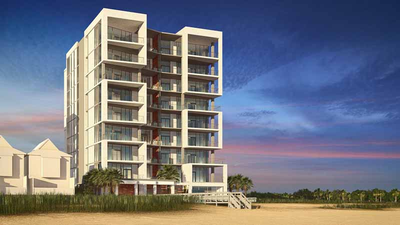 Rendering of the new Azura Key condos