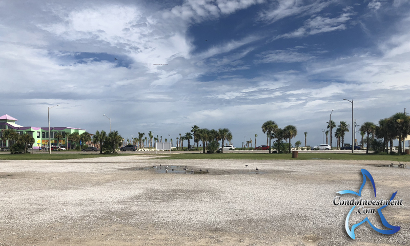 Ground view of the site for Embassy Suites in Gulf Shores, AL