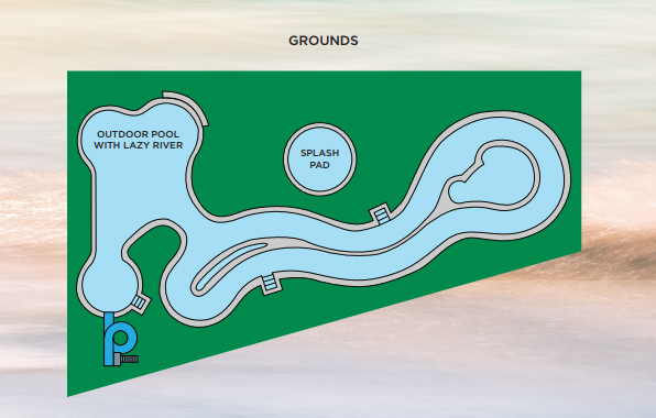 Lazy River Plans for Phoenix Gulf Towers in Orange Beach, AL