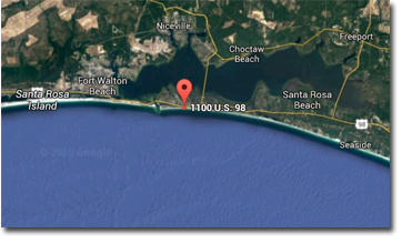 Grand Mariner condos in Destin FL | Google map