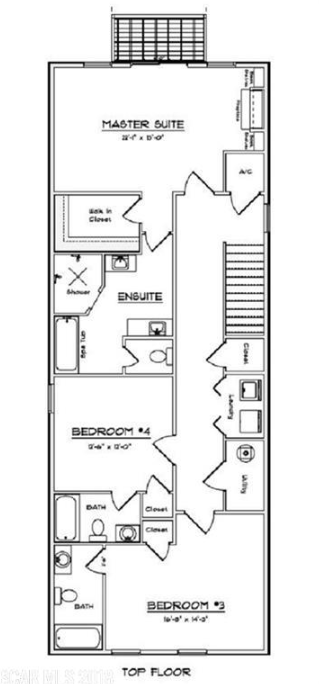 Mallory Square North 2nd Floor Plan