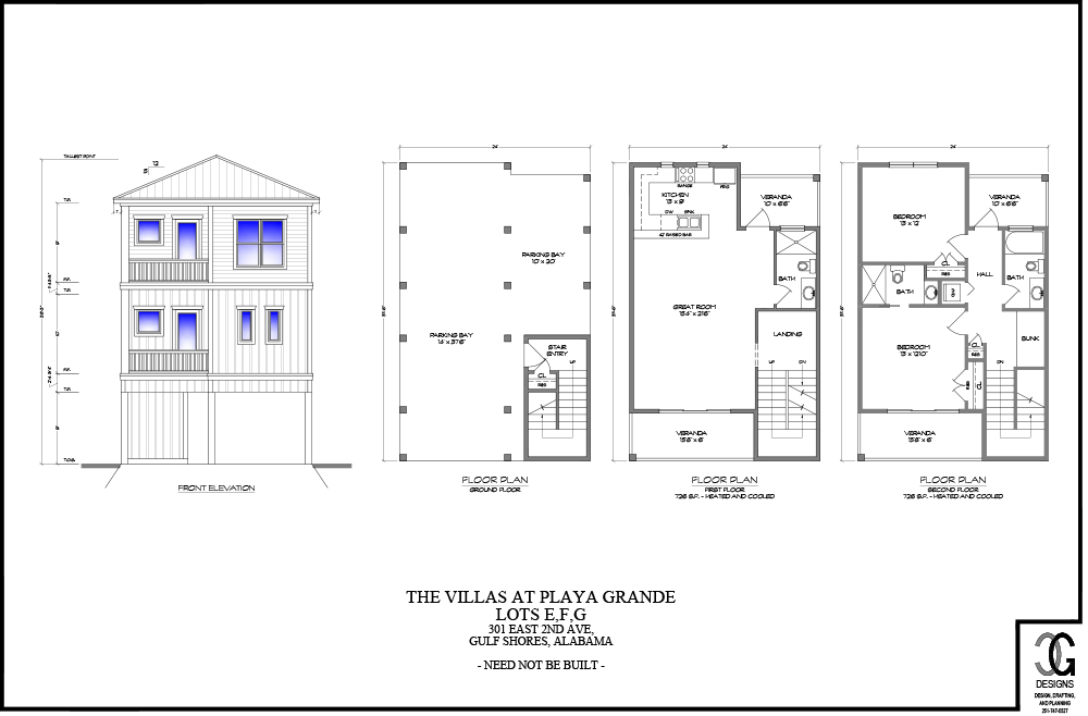 Villas-Playa-Grande-2BR-Floor-Plan