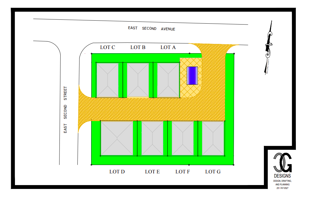 Villas at Playa Grande Site Plan