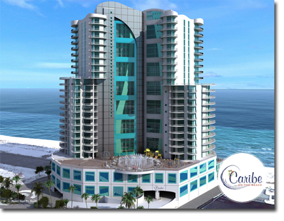 Rendering Of Caribe On The Beach