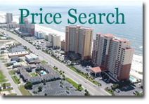 Gulf Shores search by price button