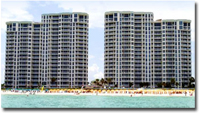 Silver Beach Towers condos in Destin FL