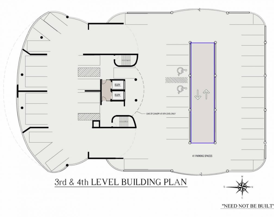Abaco Condo 3-4th Levels Building plan