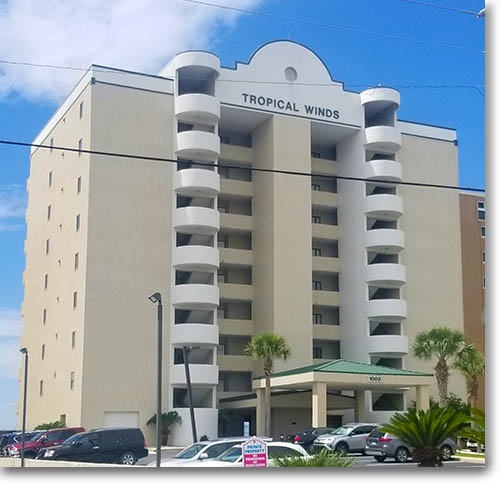 Tropical Winds Condos Gulf Shores