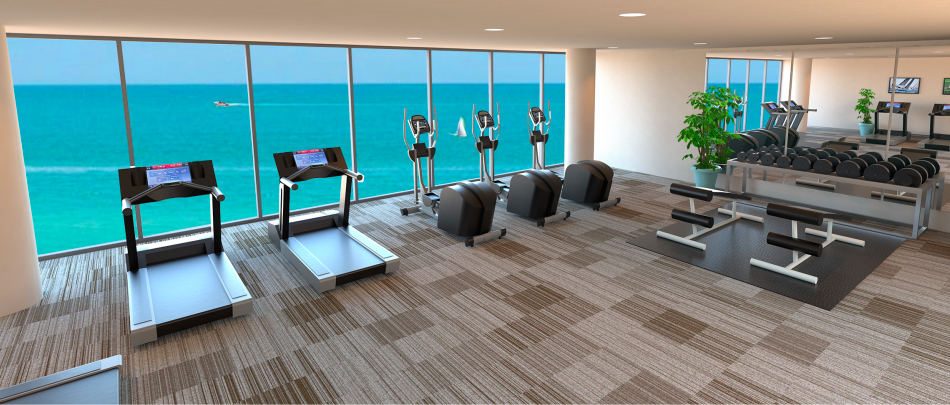 krystal key fitness center