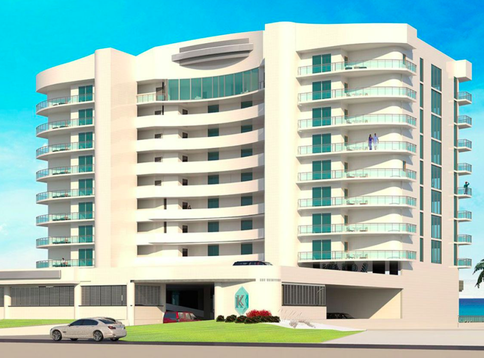 Krystal Key Beach Resort Rendering