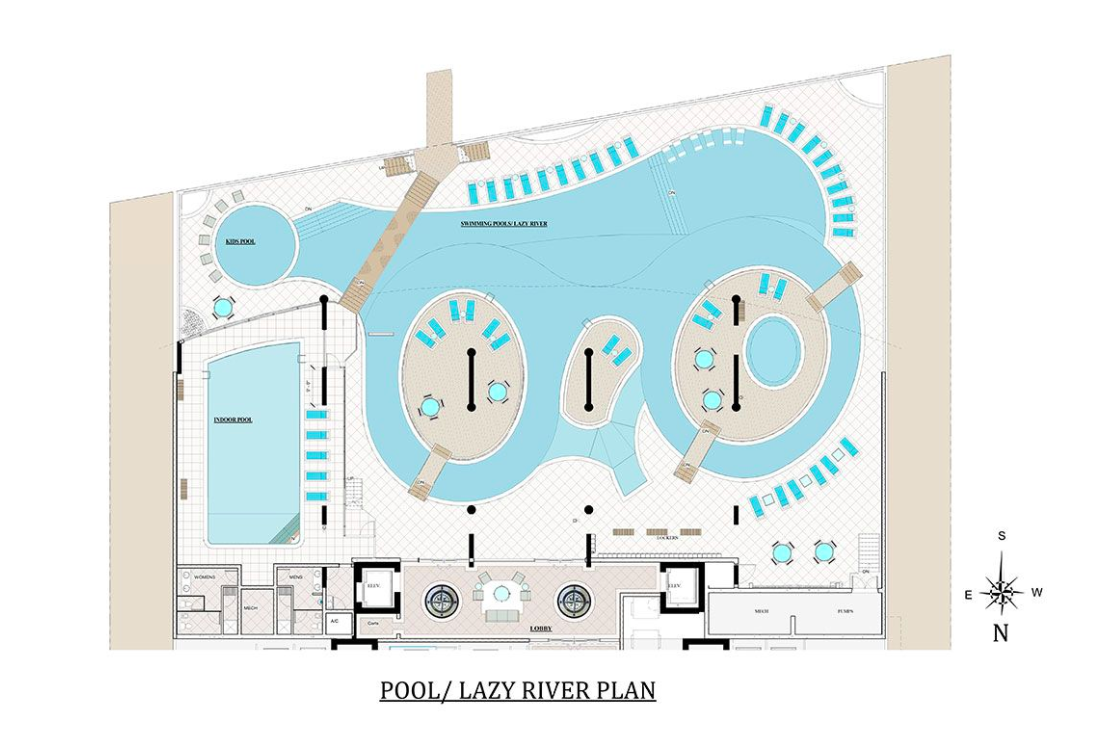 Krystal Beach Pool Plans