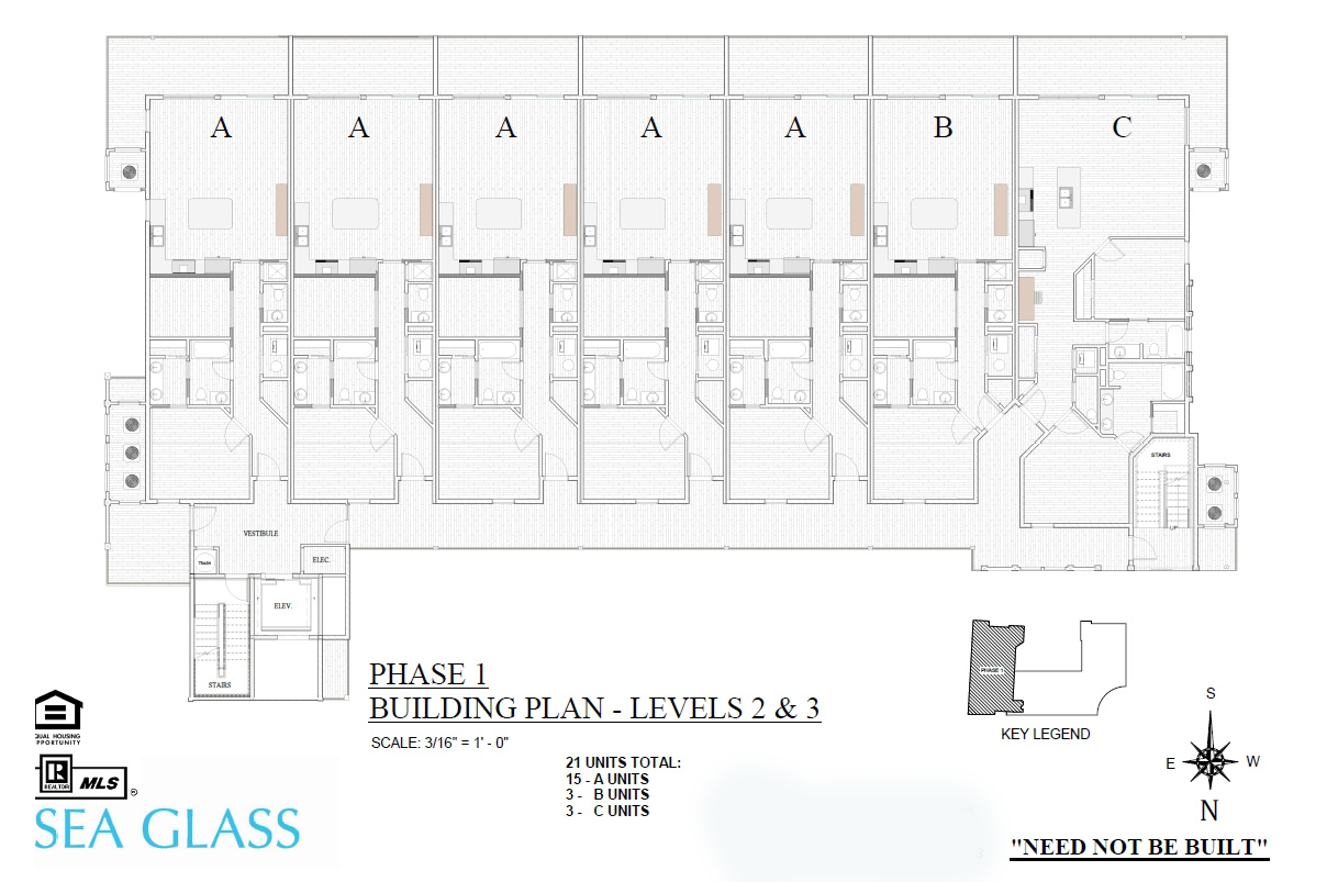 Sea Glass Phase 1 Building Plan