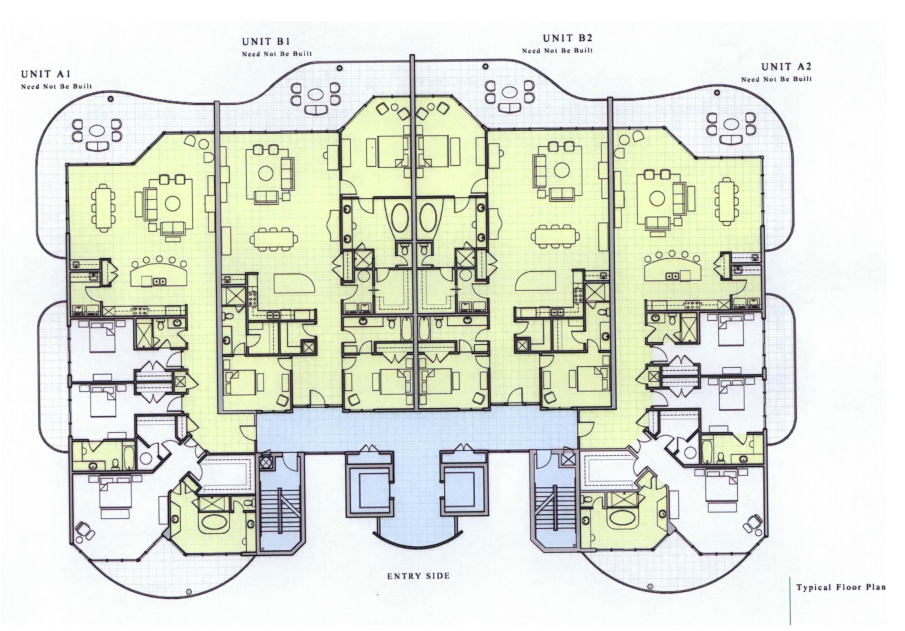 Vista Bella Unit Floor Plan